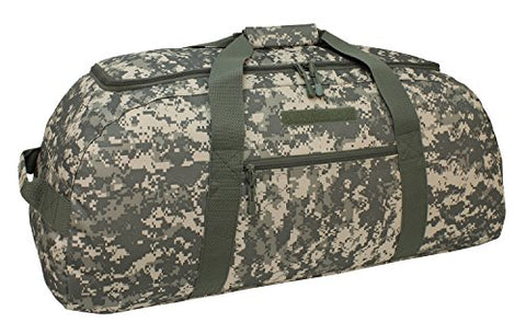Code Alpha Giant Convertible Duffel Bag With Backpack Straps, Digital Camouflage