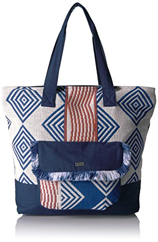 Heart By The Sea Shoulder Tote Weekender Bag, Clematis Blue, One Size