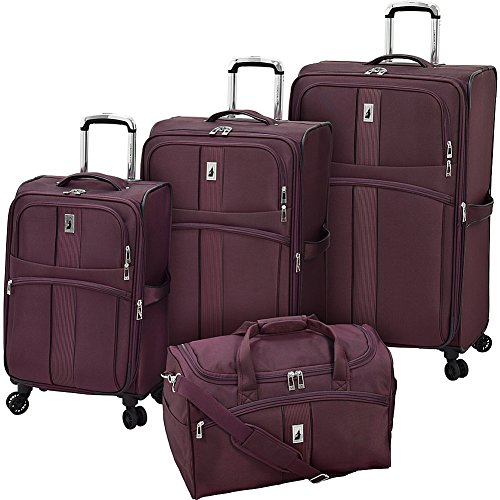 London Fog Langley 4 Piece Set, Bordeaux
