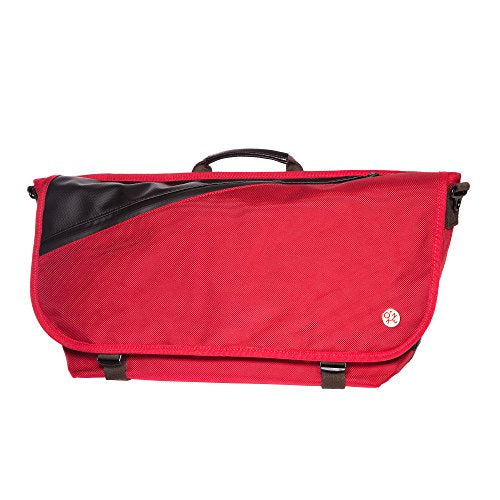 Token Bags Grand Army Messenger Medium, Red, One Size