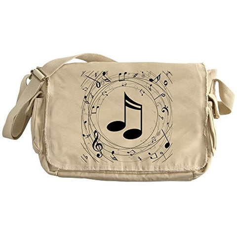 CafePress - Music Teacher Gift Idea - Unique Messenger Bag, Canvas Courier Bag