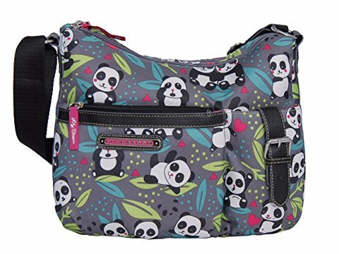 Lily Bloom Kathryn Hobo Bag (PANDA POP)