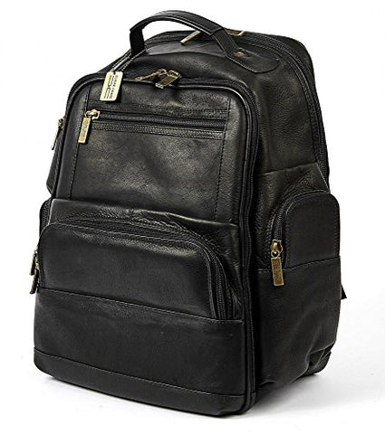 Claire Chase Executive Backpack-3, Black
