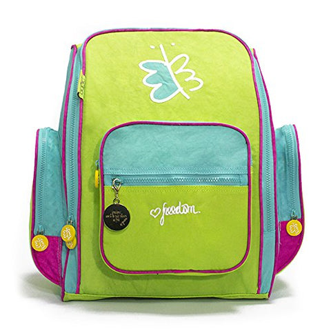 Biglove Kids Backpack Freedom, Multi-Colored, One Size