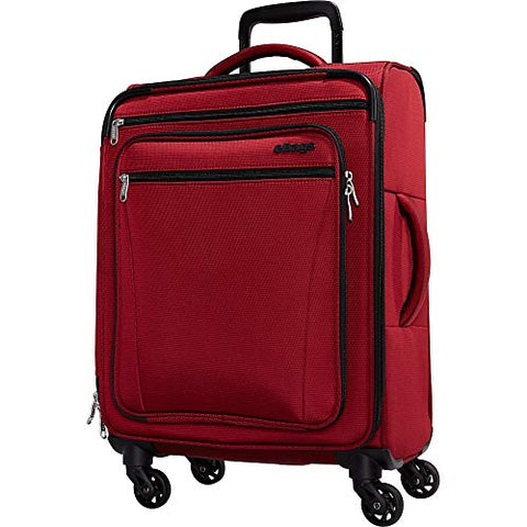 eBags eTech 3.0 Softside Spinner Carry-On (Crimson Red)