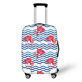 Thikin Cute 3D Cartoon Print Protective Covers For 18-30 Inch Suitcase
