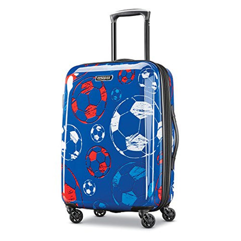 American Tourister Moonlight Spinner 21, Red/White/Blue