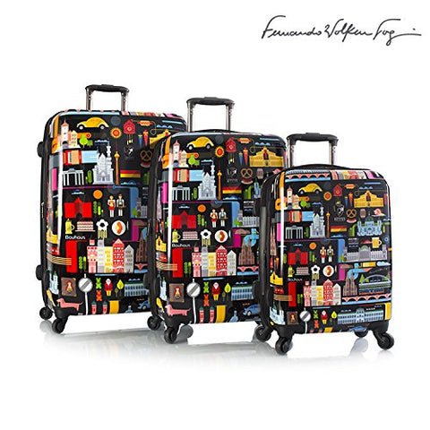 "Fernando Fvt By Heys Favourite Germany Spinner 3 Piece Luggage Set 21"",26"",30"""