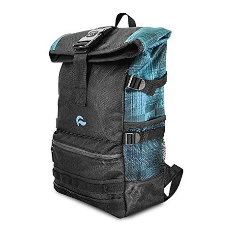 Skunk Backpack Rogue - Smell Proof - Water Proof - Lockable - Hydroponics (Navy Denim)