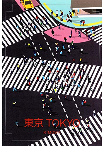 "RIMOWA Tokyo Japan counry sticker for Topas, Original, Salsa, Essential series for luggage and carry on""Made in Germany"""