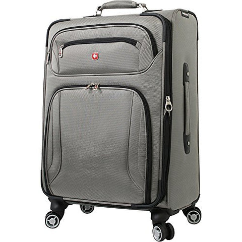 "Wenger Travel Gear Zurich 24"" Spinner (Pewter)"