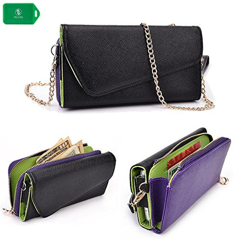 Cellphone Wallet Wristlet Case, New Holds Phone|Cards|Cash- Universal Fit For Blu Life 8 Xl|Blu Life One Xl|Blu Studio 5.5 S|Blu Studio 5.5C|Blu Studio 6.0 Hd|Blu Studio 6.0 Lte|Blu Studio X Plus