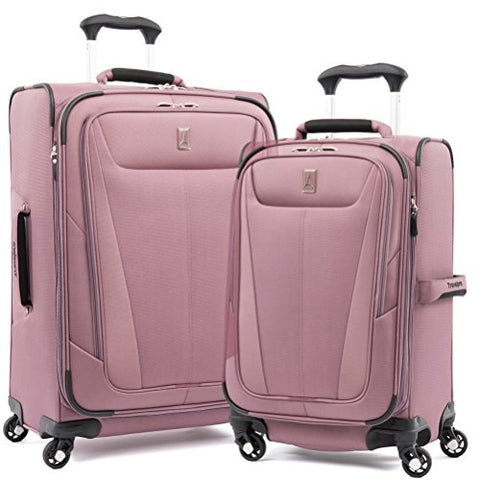 Travelpro Maxlite 5 Set Of 21 |25 Expandable Spinners Dusty Rose
