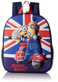 Despicable Me Boys' the Minion Invasion Backpack, Blue