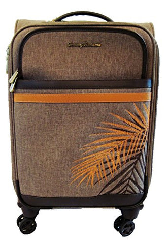 "Tommy Bahama Chesapeake Bay Tropical Palms Upright Spinner Suitcase (24"")"