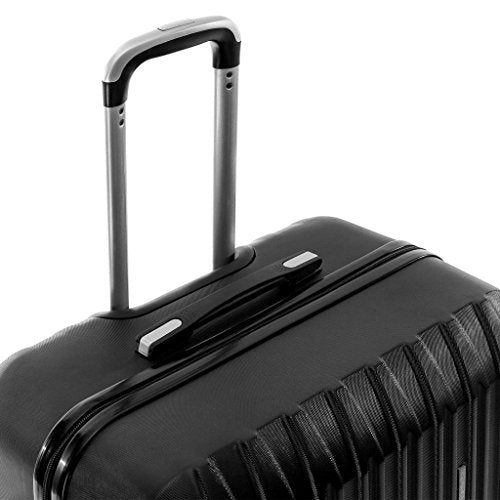d718cf3b1acf Shop Hardside Spinner Luggage 4 Piece Abs Luggage Set Light Travel ...