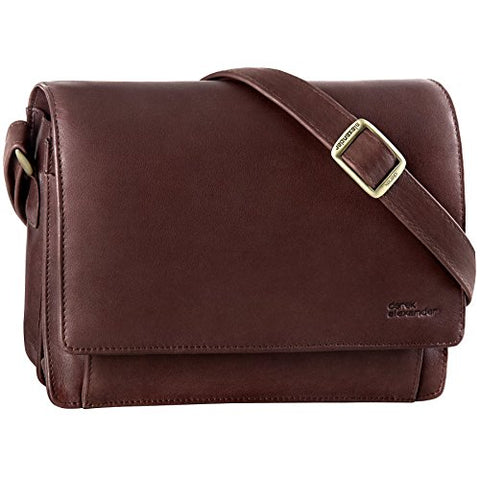 Derek Alexander East-West 3/4 Flap, Brown