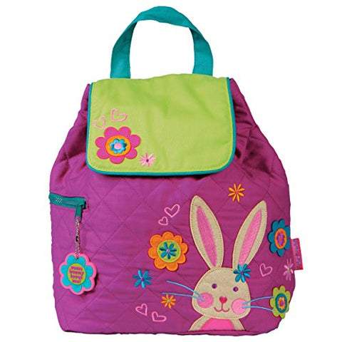 Stephen Joseph Quilted Backpack, Bunny,One Size