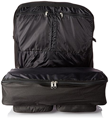 Everest Deluxe Garment Bag, Black, One Size