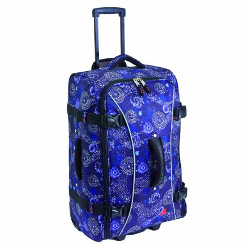 Athalon Luggage 26 Inch Hybrid Travelers Bag, Batik, One Size