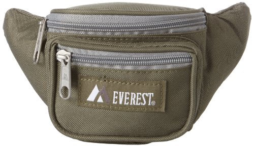 Everest Signature Waist Pack - Junior, Olive, One Size