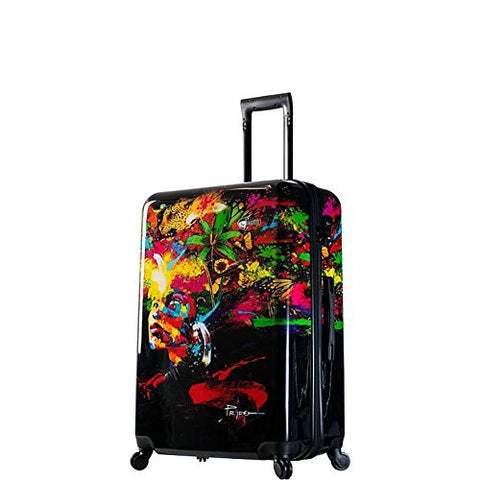 Mia Toro Italy Prado-Beautiful Minds 28 Inch Spinner Luggage,pbm