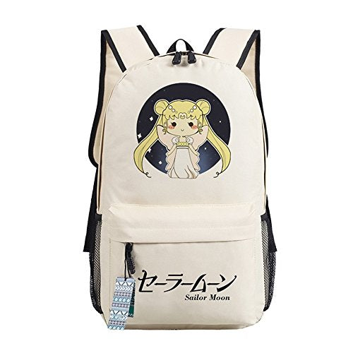 YOLEOLY Daypack Bookbag Backpack School Bag for Sailor Moon Cosplay (8)