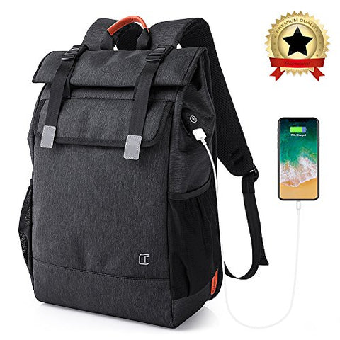 Casual Laptop Backpack, Ice Frog Anti-Theft College Business Travel Backpack Waterproof Outdoor
