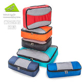 ZOMAKE 6 Set Packing Cubes for Travel - Lightweight Luggage Packing Organizer Travel Accessories