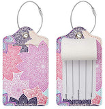 Chelmon Luggage Tags Label Cruise Instrument Bag Case Tags(03 blooming A)