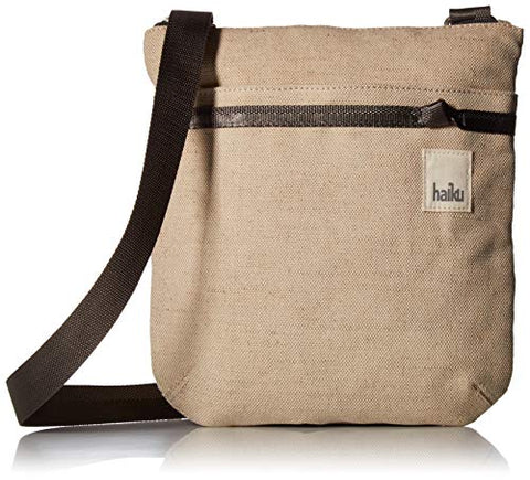Haiku Revel RFID Crossbody Bag, Hemp Cotton