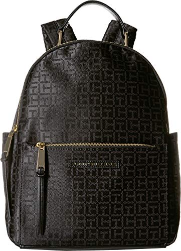 Tommy Hilfiger Women's Althea Backpack Black/Tonal One Size