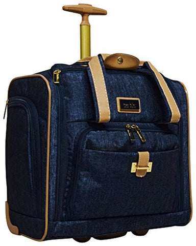 Nicole Miller Paige Collection Carry On Under Seat Bag (Navy)