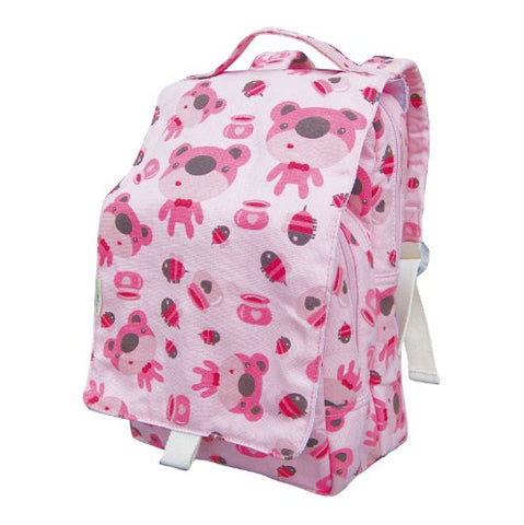 Ecogear Ecozoo Dually Bear Print Lunch Tote, Pink, One Size
