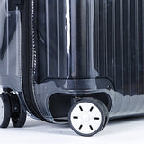 Luggage Cover Protector Clear Pvc With Black Zipper For Rimowa Salsa