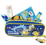 "Despicable Me Minions Boy's 16"" Large School Backpack Book Bag w/Stationery set"