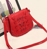 Bibitime Vintage Hollow Leaves Butterfly Messenger Bag Butterfly Crossbody Bags Butterfly