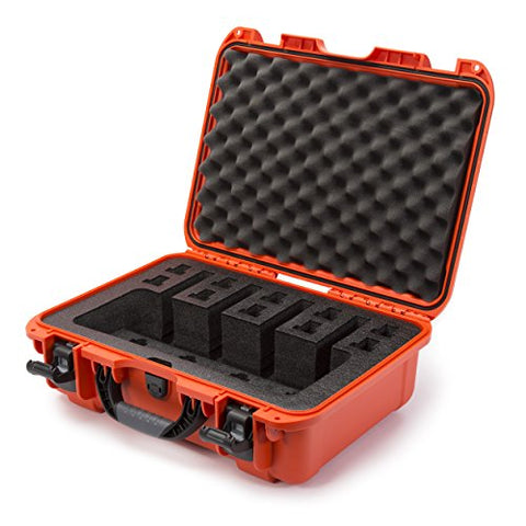 Nanuk 925 Waterproof Professional Gun Case With Foam Insert For 4Up - Orange