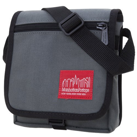 Manhattan Portage East Village Bag, Gray, One Size