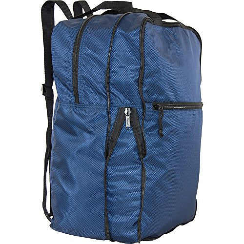 Netpack U-Zip Expandable Packable Backpack (Navy)