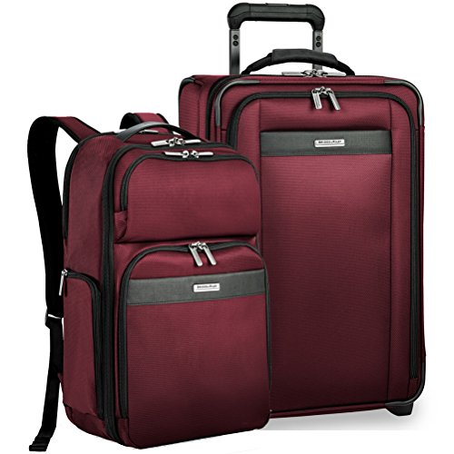 Briggs & Riley Transcend Vx Expandable Carry-On & Backpack (Merlot)
