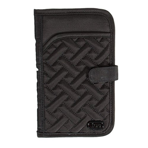 Lug Women'S Tandem Wallet, Brushed Black