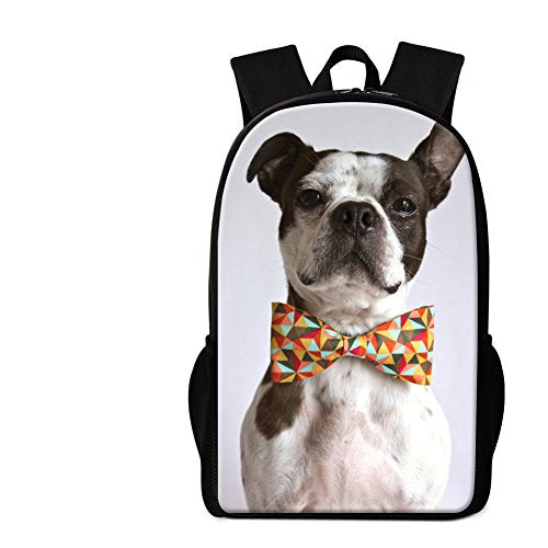 CrazyTravel Dog Printing Cute Toddlers Boys School Backpack Satchel For Primary Kids Girls Study Sports