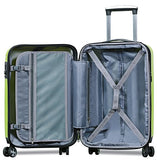 HiPack X-Treme Series 3-piece Expandable Hardshell Spinners w/ Tamper Proof TSA Lock Luggage Set