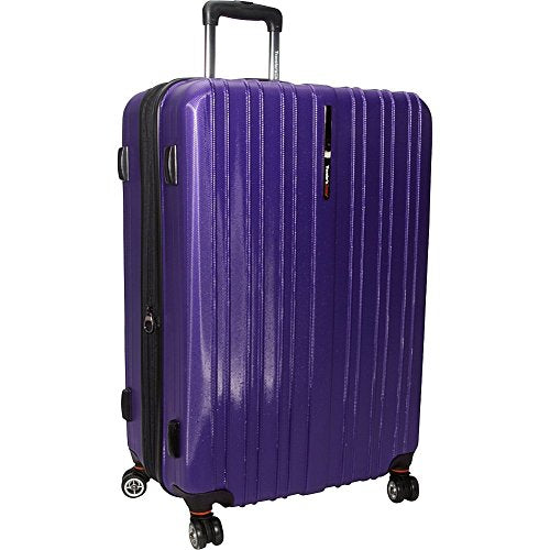 "Traveler's Choice Tasmania 29"" Exp Hardsided Spinner Suitcase in Purple"