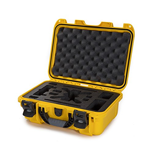 Nanuk 915-Spark Hard Case with Foam Insert for DJI Spark Flymore Camera, Yellow (915-SPARK4)