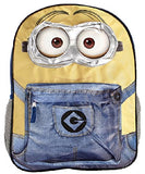 "Despicable Me Minions 16"" Full Size Character Backpack"