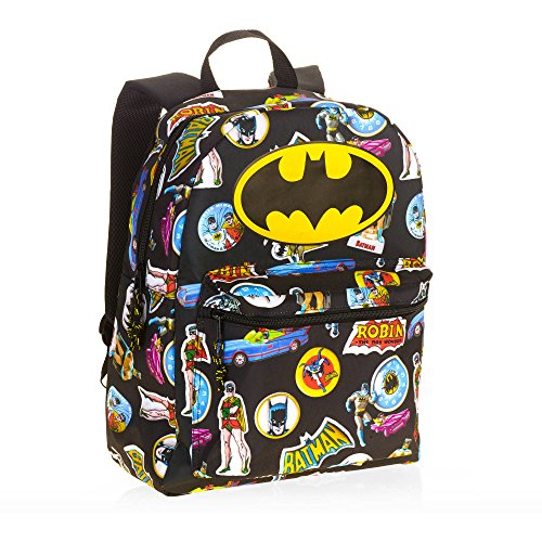 Batman Comic 16 Standard Size Backpack