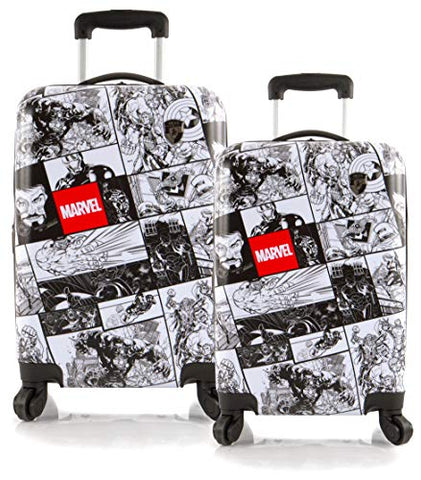 Heys America Marvel Comics Lightweight 2-PC Expandable Spinner Luggage Set