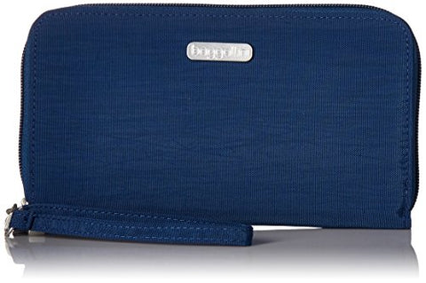 Baggallini Women'S Rfid Continental Wallet, Pacific